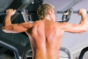 Eigengewichtsübungen - Klimmzüge